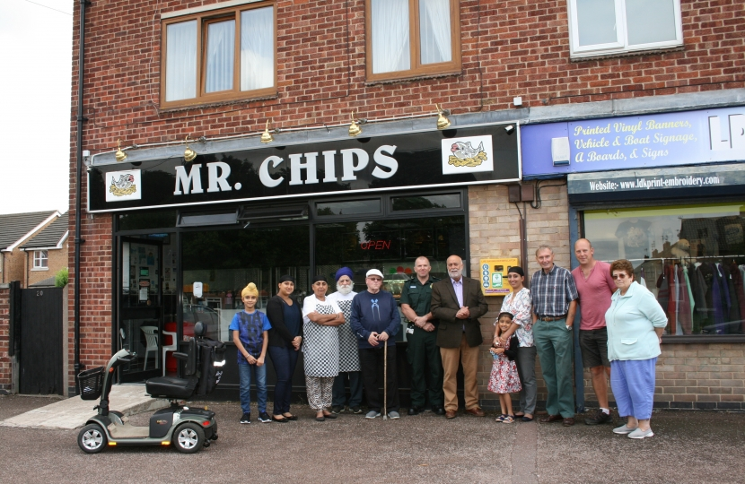 Mr Chips, Beresford Road